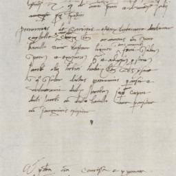 Report concerning Petronius...