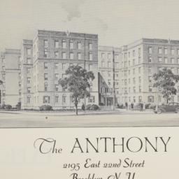 The     Anthony, 2195 E. 22...