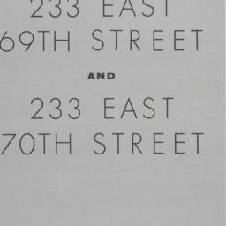 233 E. 69 Street, 233 East ...