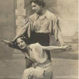 Anna Pavlova and Mikhail Mo...