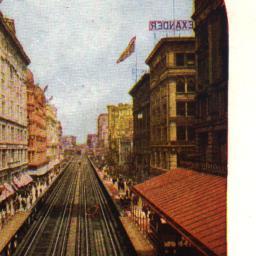 Manhattan Elevated Railway ...
