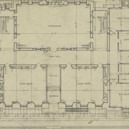 Ground floor plan. Naugatuc...