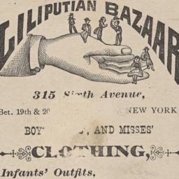 Best & Company, Liliputian ...
