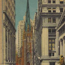 Wall Street Showing Stock E...