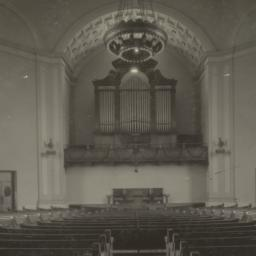Chattanooga Church, [interi...