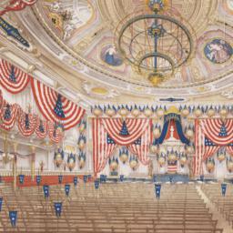 Interior view of Tammany Ha...