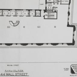 44 Wall Street, Plan Of 22n...