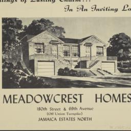 Meadowcrest Homes, 180 Stre...