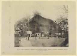 Black Forest Farmhouse, German Village, Midway Plaisance, World's Columbian Exposition, Chicago. Karl Hoffaker, Architect