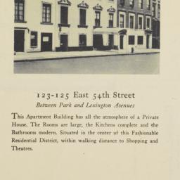 123-125 East 54th Street