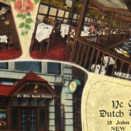 Ye Olde Dutch Tavern Equipp...