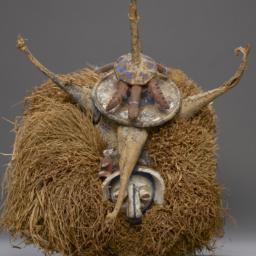 Ceremonial Mask, Helmet Mask