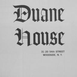The     Duane House, 31-20 ...