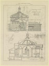 Plate 60. Presbyterian Church at Chattanooga, Tenn. Bearden & Foreman and McKim, Mead & White, Associated Architects