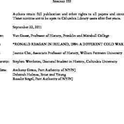 Minutes, 2011-09-22. Twenti...