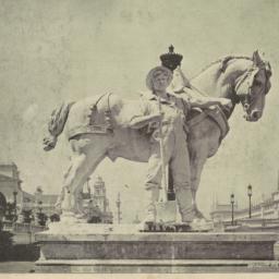 Horse group, east entrance ...