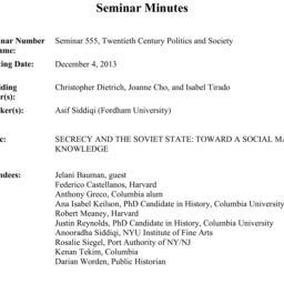 Minutes, 2013-12-04. Twenti...