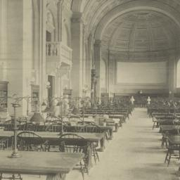 Bates Hall: Public Library ...