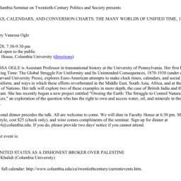 Announcements, 2013-03-28. ...