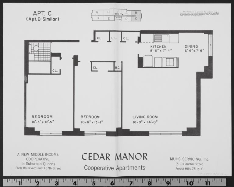 Cedar Manor, 157 Street And 116 Avenue, Apt. C - Columbia Digital ...