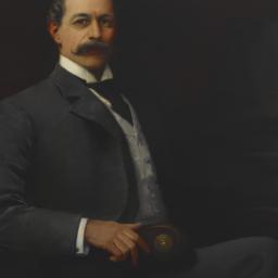 Portrait of Hamilton McKown...