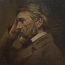 Portrait of Thomas Carlyle ...