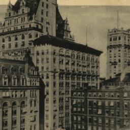 Broadway Skyscrapers Near S...