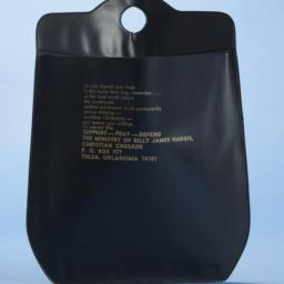 Christian Crusade litter bag
