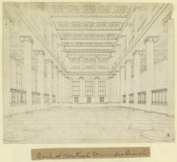 Bank of Montreal, Winnipeg branch. [Interior]