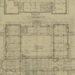 Plate 91. First Floor Plan....