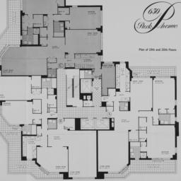 650 Park Avenue, Plan Of 19...