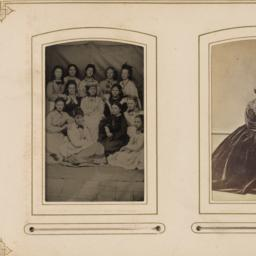 Two Images: Thirteen Young ...