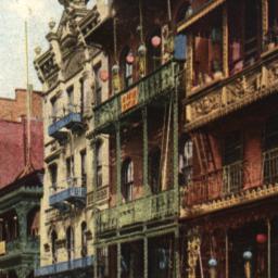Mott Street, New York.