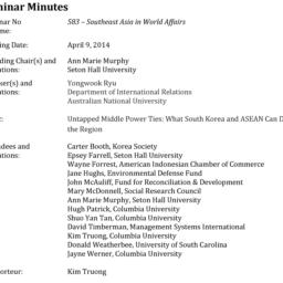 Minutes, 2014-04-09. South ...