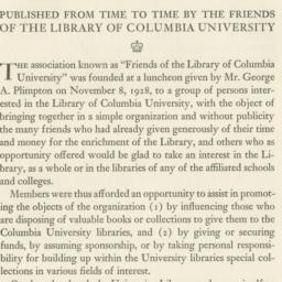Bibliotheca Columbiana: Num...