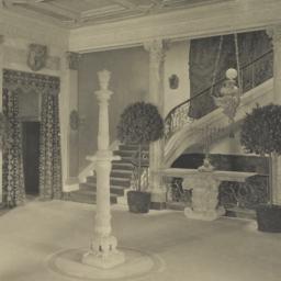 Main hall, looking towards ...