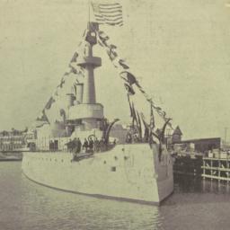 The     Battleship Illinois...
