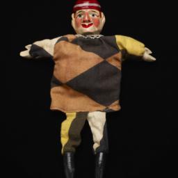 Harlequin Hand Puppet