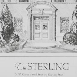 The     Sterling, 62 Street...