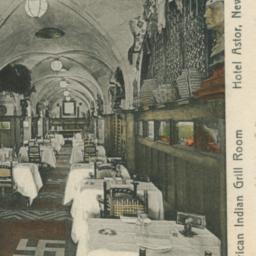 American Indian Grill Room ...