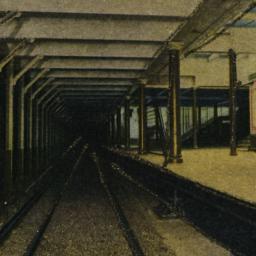 Subway Station, N. Y. City.