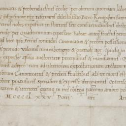 [Papal bull from Pope Sixtu...