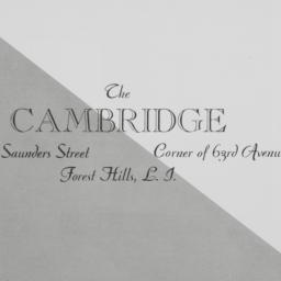 The     Cambridge, Saunders...
