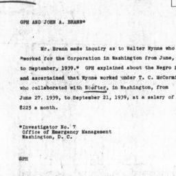 Memorandum from Carnegie Co...