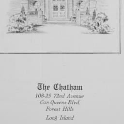 The     Chatham, 108-75 72 ...