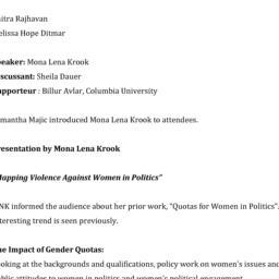 Minutes, 2014-03-31. Women ...