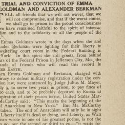 Trial and Conviction of Emm...