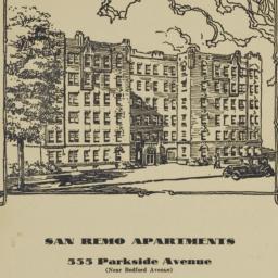San Remo Apartments, 535 Pa...