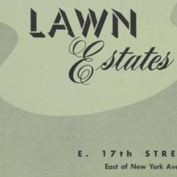 Park Lawn Estates, E. 17 St...