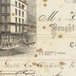 Turner & Co. Bill or receipt